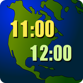 World Clock Widget 2021 Pro icono
