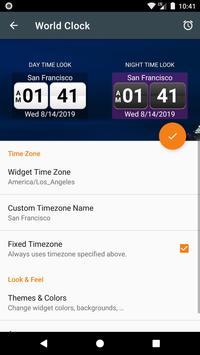 World Clock Widget 2021 Pro captura de pantalla 2