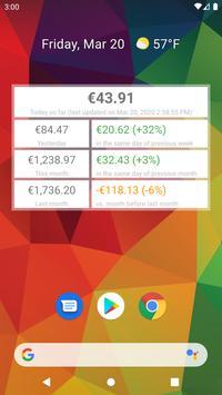 My app earnings الملصق