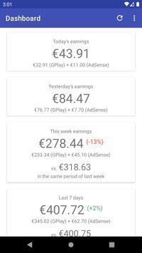 My app earnings تصوير الشاشة 3