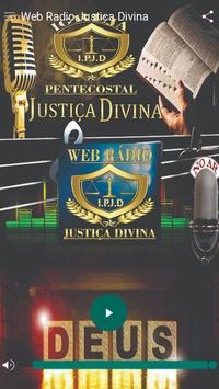 Web Rádio Justiça Divina poster