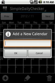 SimpleDailyChecker - Done app screenshot 2