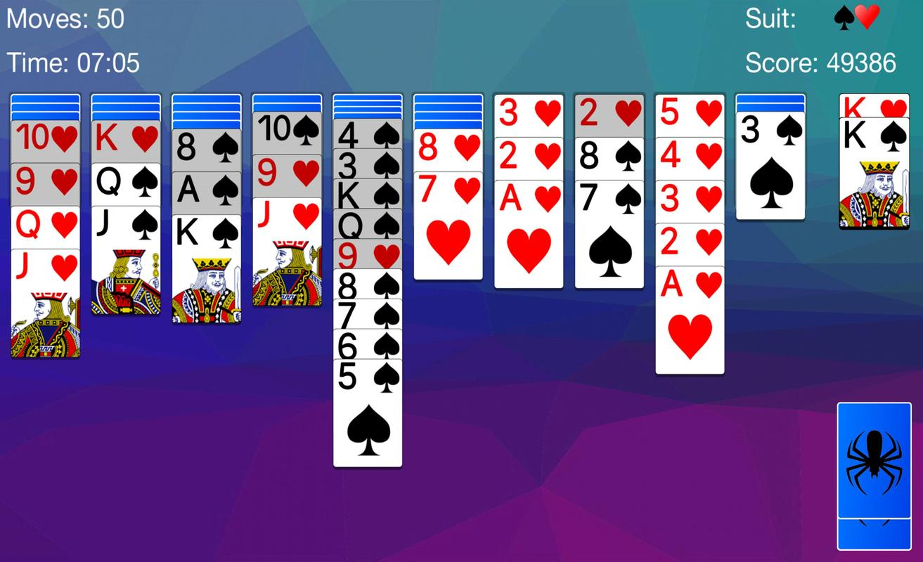 spider solitaire apk download for pc