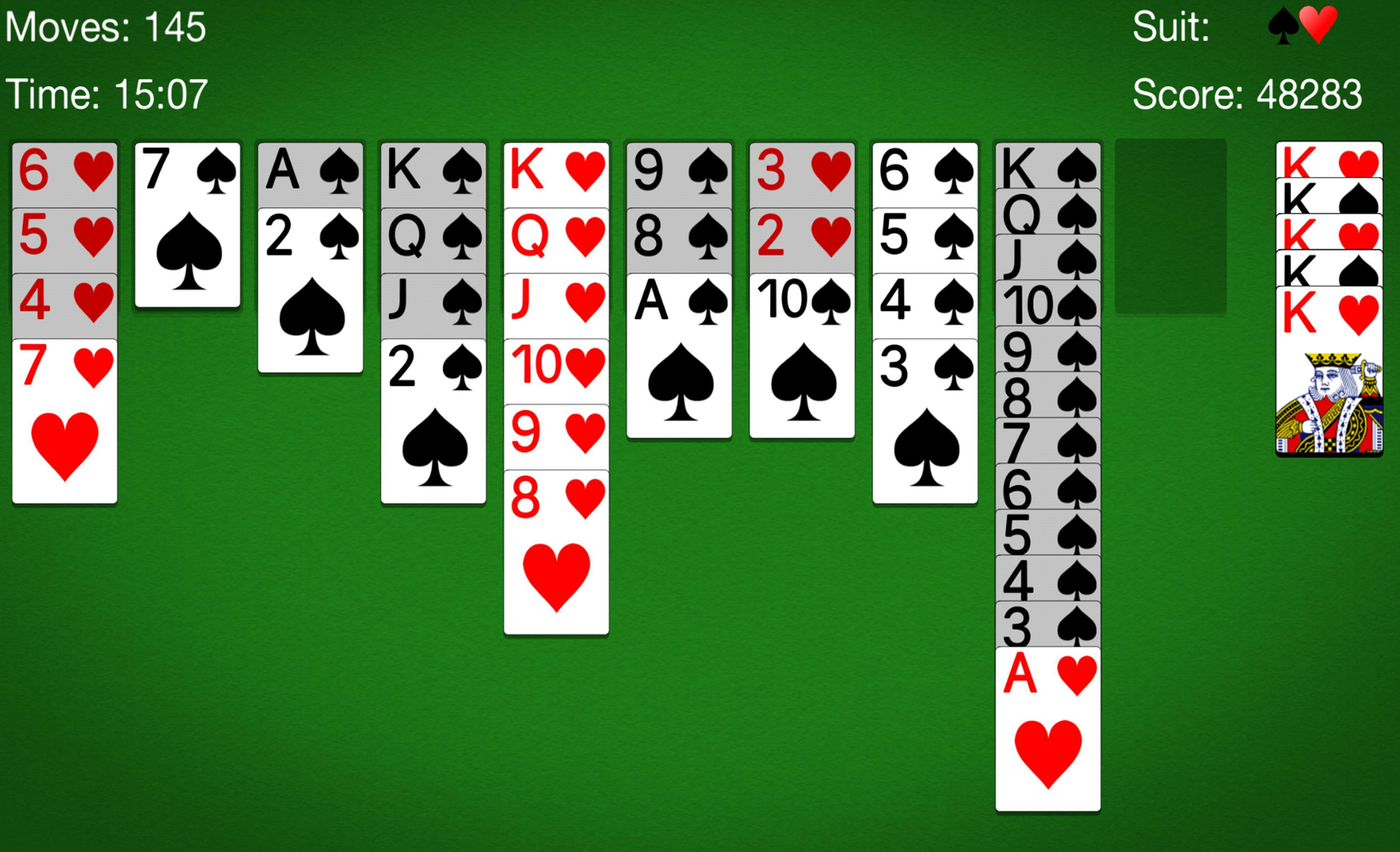 Card Spider Solitaire