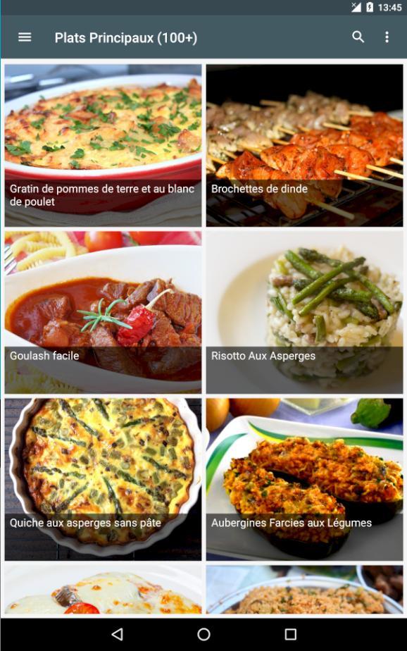 idee repas für Android - APK herunterladen