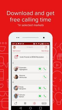 BOSS Revolution: Llamadas+Text captura de pantalla 3