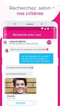 Meetic screenshot 5