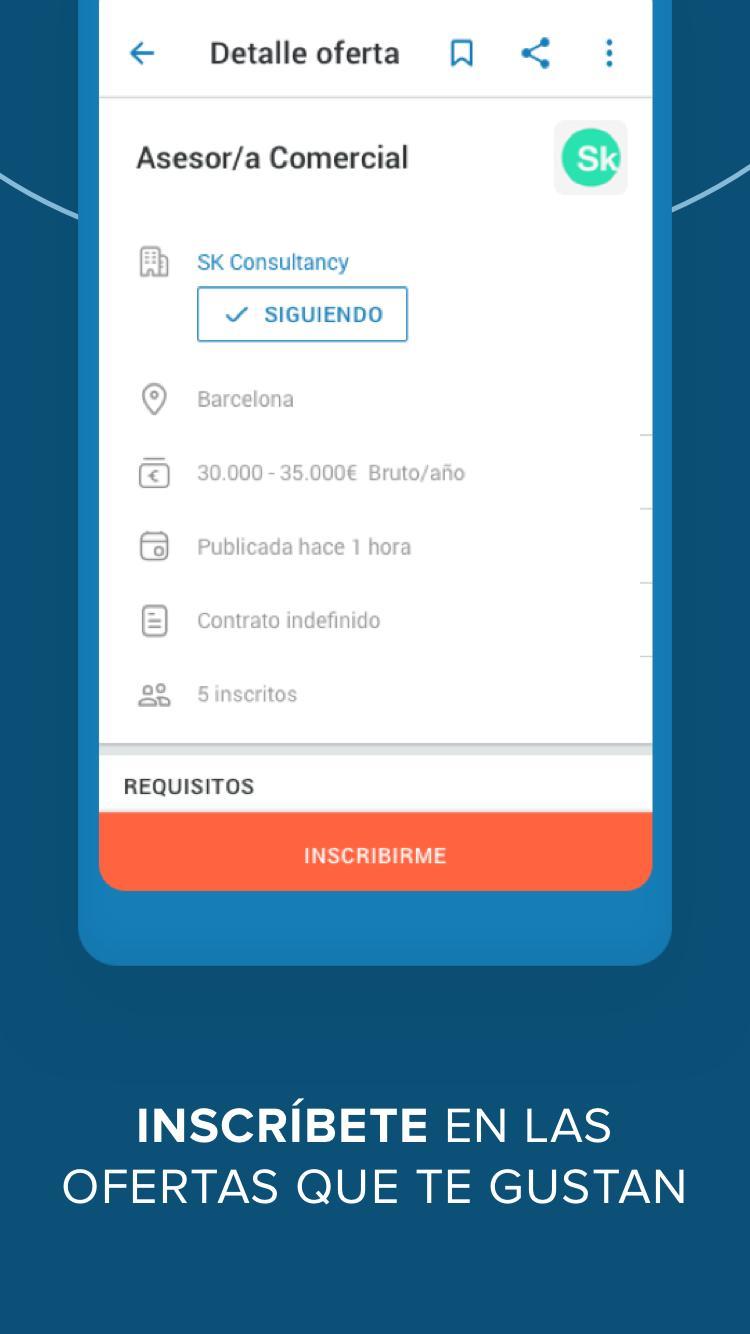 disponible comprar el más nuevo Buenos precios InfoJobs for Android - APK Download