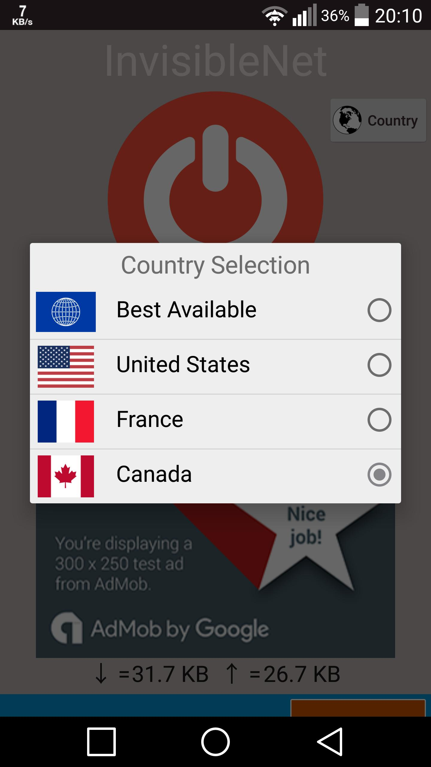 Turbo VPN FREE VPN Master VPN by Invisible NET for Android