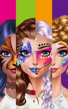 Face Paint Party! Girls Salon screenshot 11
