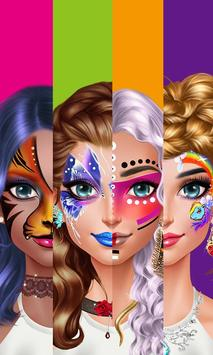 Face Paint Party! Girls Salon screenshot 1