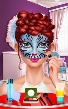 Face Paint Party! Girls Salon screenshot 7