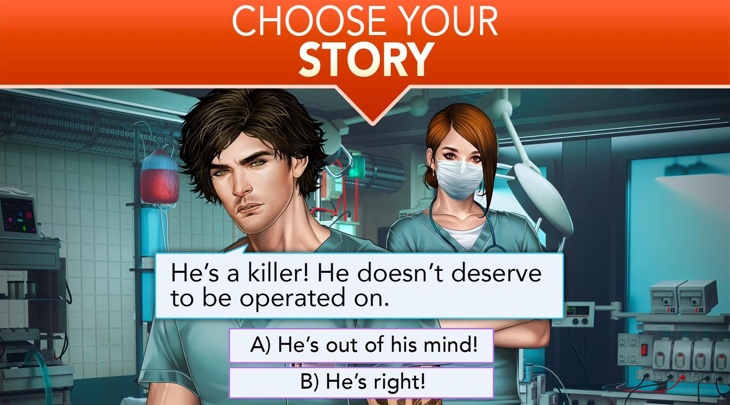 Image result for Is it Love? Blue Swan Hospital - Choose your story    game pic