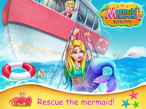 Mermaid Secrets1- Mermaid  Princess Rescue Story poster