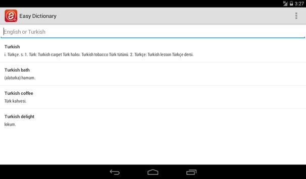 Easy Dictionary screenshot 3