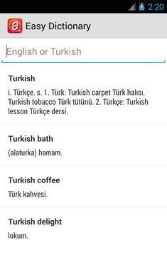 Easy Dictionary screenshot 1