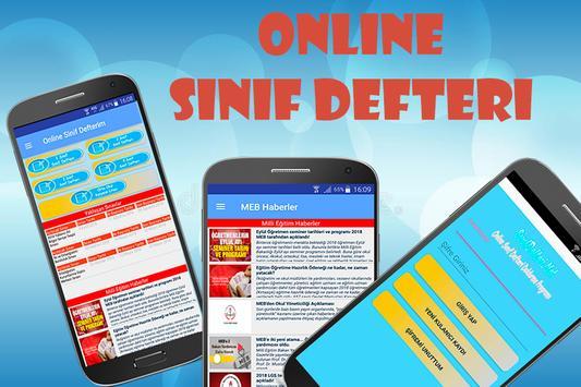 Online Sınıf Defteri poster