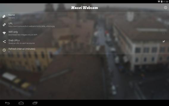 Muzei Webcam screenshot 8