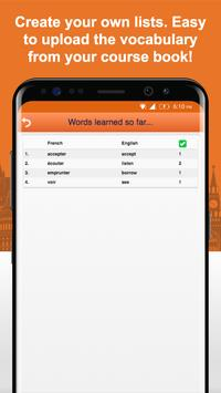 Learn French Vocabulary Free screenshot 6