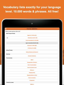 Learn French Vocabulary Free screenshot 17