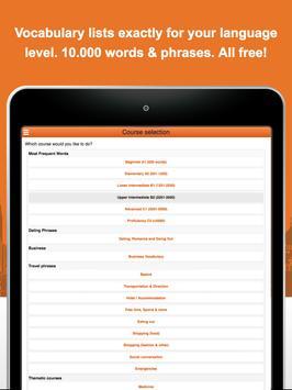 Learn Korean Vocabulary Free screenshot 8