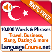 Learn Turkish Words Free icon