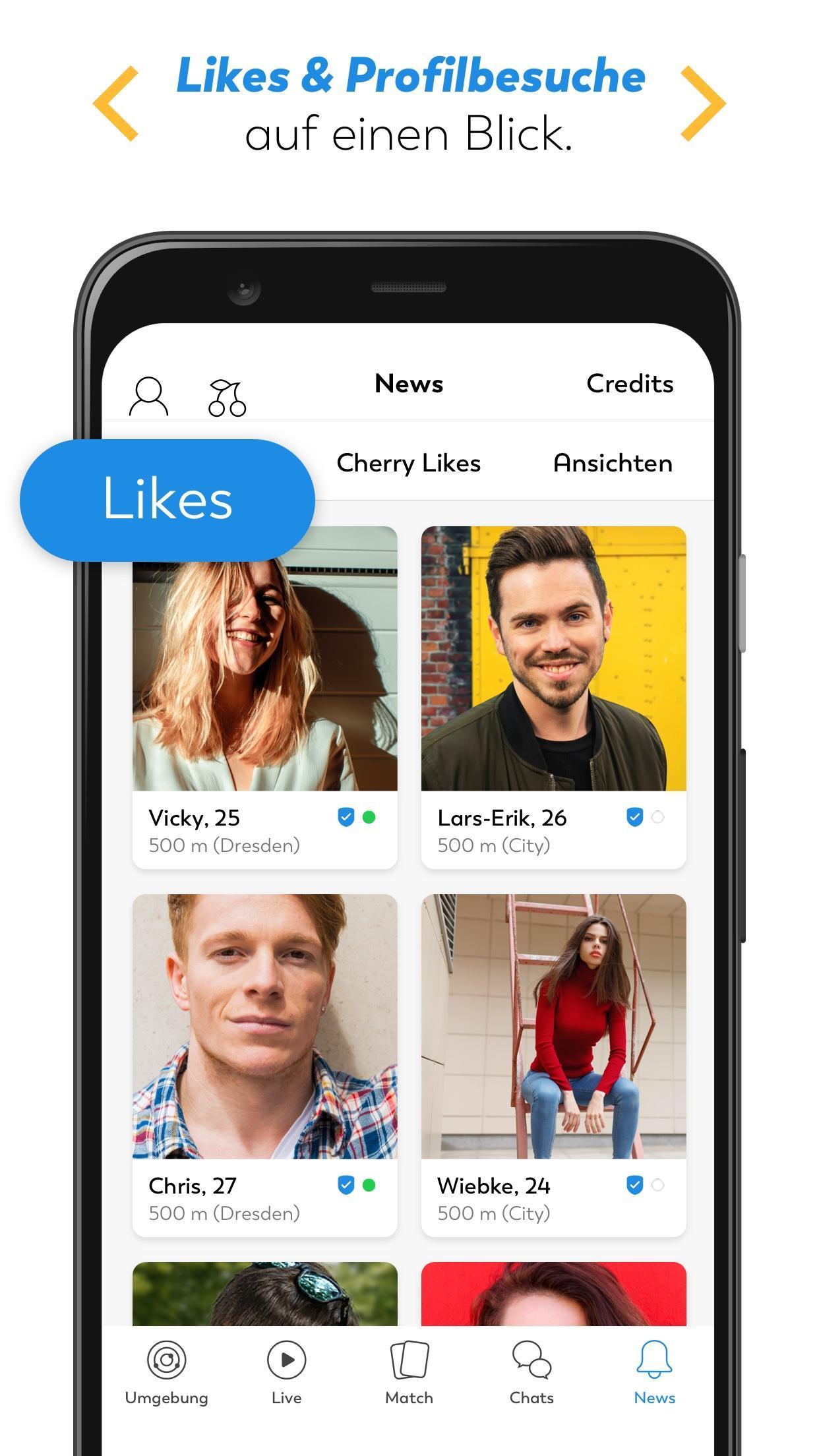 LOVOO für Android - APK herunterladen