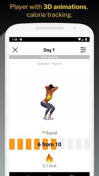 30 Day Butt & Leg Challenge women workout home تصوير الشاشة 1