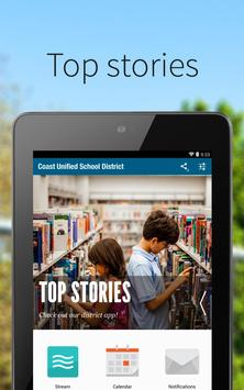 Coast Unified School District poster