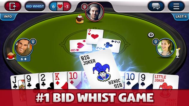Bid Whist Plus poster