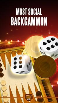 Backgammon Plus الملصق