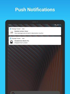 Package Tracker - Fedex, USPS, UPS, Wish, DHL, TNT screenshot 6