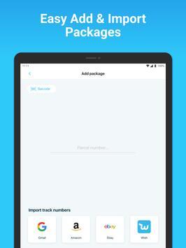 Package Tracker - Fedex, USPS, UPS, Wish, DHL, TNT screenshot 8