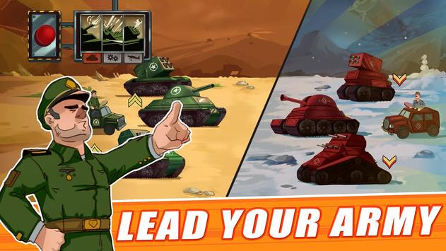 Tank Battle : War Commander screenshot 1