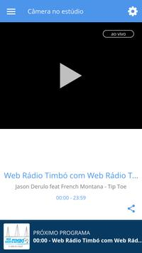Web Rádio Timbó screenshot 1