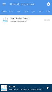 Web Rádio Timbó screenshot 2
