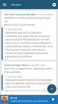 Web Radio Mega Ipuanense screenshot 4