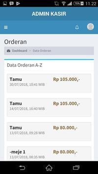 Admin RevKasir screenshot 1