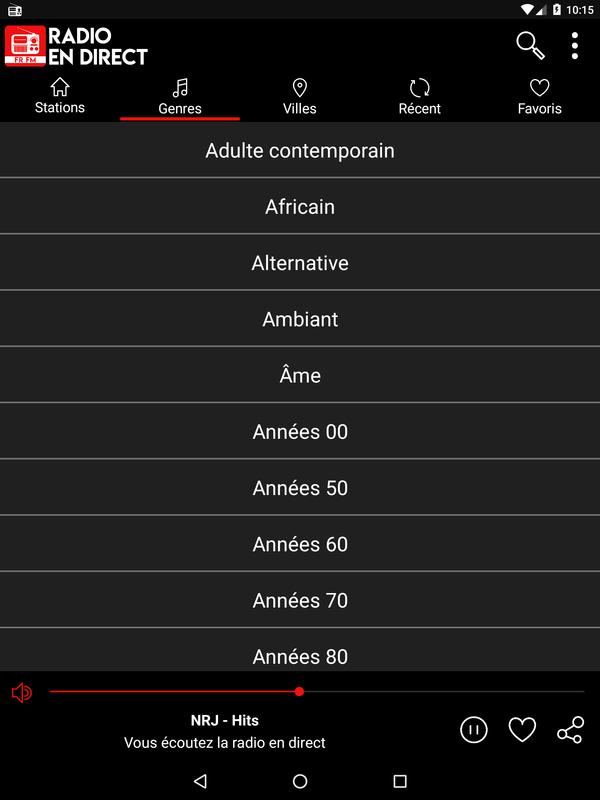 Radio En Direct France Fur Android Apk Herunterladen