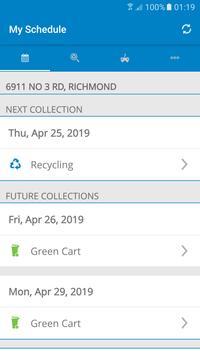 Richmond Collection Schedule screenshot 5