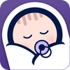 婴儿睡眠-白噪声 图标