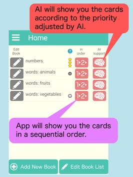 AI FlashCard: Memorization tool supported by AI screenshot 1