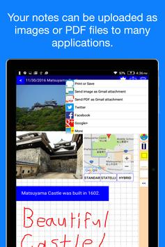 Pocket Note Pro - a new type of notebook screenshot 7