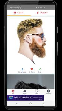 Hairstyles for Men and Boys: 40K+ latest haircuts poster