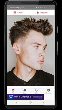 Hairstyles for Men and Boys: 40K+ latest haircuts screenshot 3