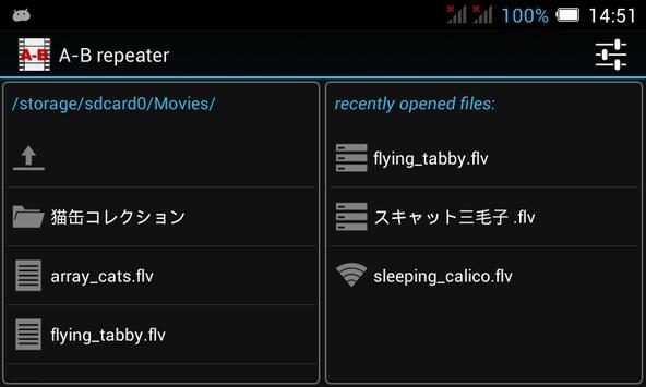 A-B repeater screenshot 1
