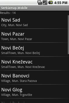 Serbiamap.Mobile screenshot 1