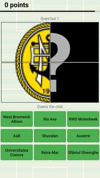 Soccer Club Logo Quiz: more than 1000 teams screenshot 6