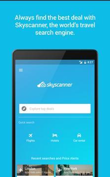 Skyscanner imagem de tela 16