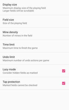 Mines screenshot 1